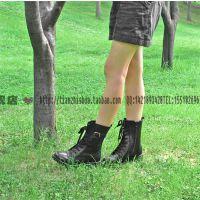 3515强人女靴冬季棉靴女棉鞋保暖羊毛靴马丁靴军靴女式鞋棉鞋T27