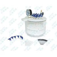 柳州QYCQ -12B圆形独立控制固相萃取仪,固相萃取仪配泵价