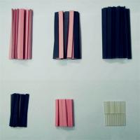 红夹黑硅胶导电胶条 LCD用导电硅胶斑马条 硅胶发泡条