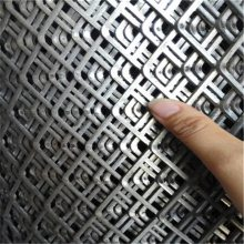 旺来不锈钢钢板网厂家 基坑支护钢板网 菱形板网