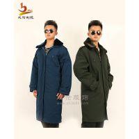 比伦服饰供应保安服 大衣长外套 冬装工作服定做BL-BA12