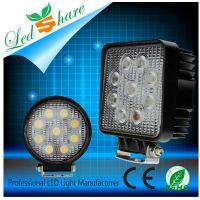供应 WD-0127W 大功率汽车LED工作灯 高品质好光亮27W方形LED工作灯