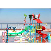 水上乐园设备,儿童水滑梯设备,儿童水屋JZL-SWC009