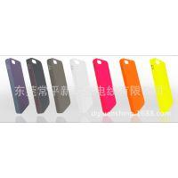 新款iphone5手机壳 超薄苹果手机保护套 萤光多彩变色外壳硬壳