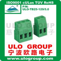 供应螺钉式接线端子 129V-5.0 厂家直销 宁波欧路电子 ULO