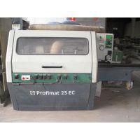 出售二手木工机械德国威力Profimat 23 EC五轴四面刨