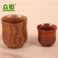 厂家直销 新款中式现代线条杯 茶杯 木质水杯 创意咖啡杯批发