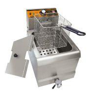 汇利单缸单筛电炸炉HY-901EX电炸锅油炸炉单缸商用炸薯条炸鸡翅机