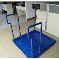 150kg碳钢轮椅秤价格 透析体重秤型号