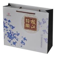 上海白卡纸手提袋制作厂家可定做铜版纸、牛皮纸环保纸袋