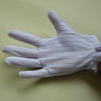 深圳防静电条纹手套 东莞防静电防滑手套厂家