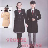 新款韩版男士韩版黑色修身西服 立领单排两粒扣定制 北京贵仕佳艺