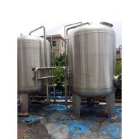 深圳湛蓝纯 1200直径 灌装机前置石英砂过滤罐 机械过滤器20T/H