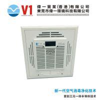 东莞吸顶式空气消毒净化器,深圳空气消毒净化器