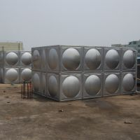 西安不锈钢水箱生产厂家 西安方形不锈钢水箱 RJ-S80