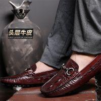 供应意大利阿玛尼男鞋低帮休闲豆豆鞋商务驾车鞋子价格