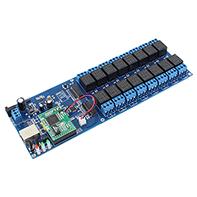 掌控宝网络继电器 手机远程控制继电器 多路开关控制 APP控制 USR-R16-T