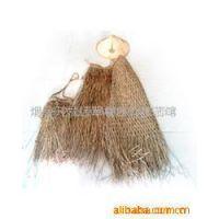 22905生产批发草编渔具工艺品,钓鱼用的蓑衣