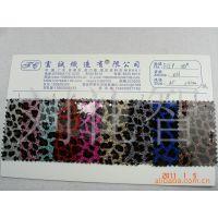 环保透明PVC面葱粉底烫金压花大全:超透胶光面PVC巴黎钻豹纹