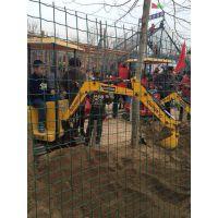 广州明狮批发出租多台儿童游乐体验全仿真挖掘机热租