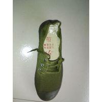 低腰绿色解放鞋 解放鞋厂家 硫化鞋 工作鞋