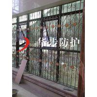 别墅铝艺防护窗,阳台高档铝艺护栏,铝材型材栏杆组装