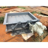 单轴单挡板门|烟气脱硫挡板门|电动挡板门 龙江管道