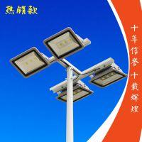 长沙球场高杆灯商家 柏克提供标准篮球场灯光布置 球场专用200W投光灯足瓦供货