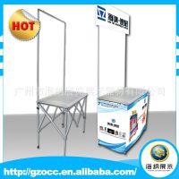 广州促销台厂家 优质超市促销台 铝合金户外促销展示台