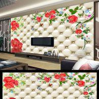 厂家直销diy软包皮革移门软包皮革背景墙 万能打印机uv平板打印机