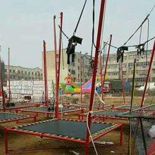 平顶山钢架蹦极厂家,2-2-4米迷你蹦极价格,郑州心悦适合乡镇经营的儿童蹦极床