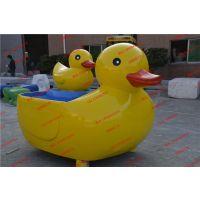 小黄鸭造型玻璃钢动物雕塑 商场装饰雕塑 游乐场景观摆件
