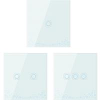 广联(GLEXER)智能家居 ZigBee一路智能开关 蓝色夜光显示功能