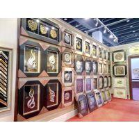 广东画框线条华仑观色厂家出口定做酒店发泡框条玛雅立体高档装饰画