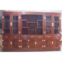 红木家具古典中式书架书柜图片大全生产厂家名琢世家刺猬紫檀红木