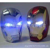 原装正品新款创意变型金钢铁侠充电宝5200毫安移动电源