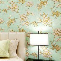 浩克壁纸 环保无纺布墙纸 卧室客厅电视背景墙 美式乡村复古壁纸