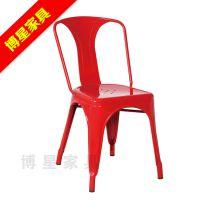 酒吧椅欧式吧台椅高铁皮椅前台椅53金属椅子