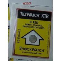 供应南通盐城防倾斜标签TILTwatch物流监控器倾倒指示器
