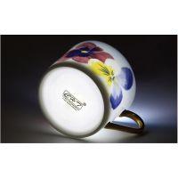 厂家直销 欧式茶具6头骨瓷咖啡壶西式花茶壶 陶瓷水具套装批发