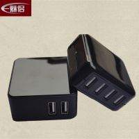 小型 5VA手机充电器 超质量 4口USB充电器厂家批发