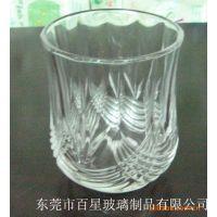 透明创意玻璃套杯 巴星克玻璃杯彩色八角杯耐高温柱形玻璃杯定制