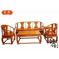 供应浙江红木家具厂批发皇宫椅沙发,红木家具厂价钱,鲁创红木家具价格