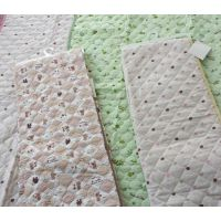 外贸出口 日单 夹棉衍缝床单 单人床单 学生床单