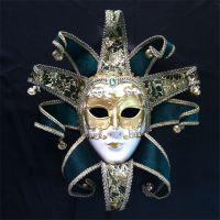 直销夜店舞会装扮面具威尼斯纸浆全脸面具万圣节面具