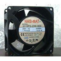 原装NMB现货 3115PS-23W-B30 230VAC 10/8W 80*80*38 铝框风扇