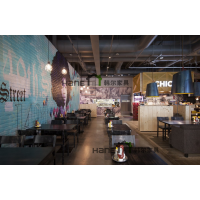 复古西餐椅,西餐厅家具定制,上海西餐厅桌椅生产加工厂家 韩尔家具