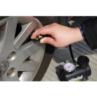 车载充气泵12V汽车充气泵迷你打气机车用打气泵电动车轮胎充气机
