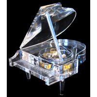 西安水晶钢琴定做,毕业水晶礼品定做,水晶纪念品,水晶工艺品