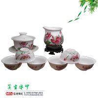 景德镇茶具生产厂家 定做高档功夫茶具